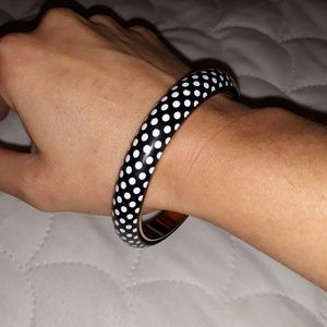 Monet polkadot bangle